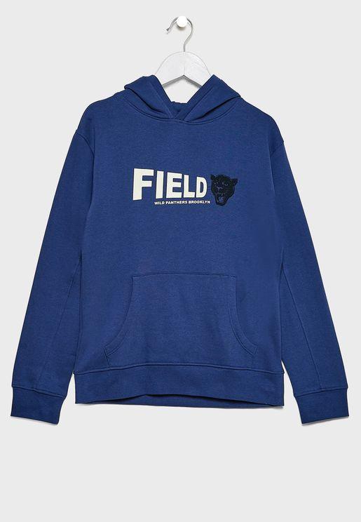 Kids Field Hoodie