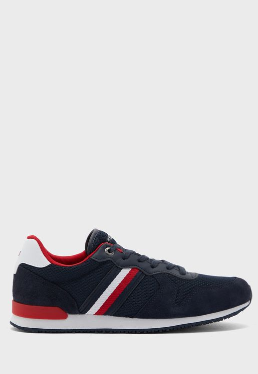 Iconic Material Mix Runner Sneaker