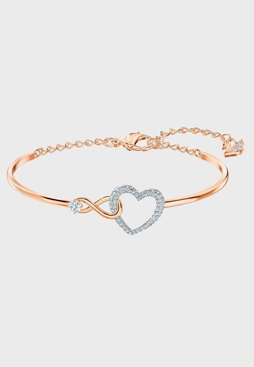 Infinity Heart Bracelet