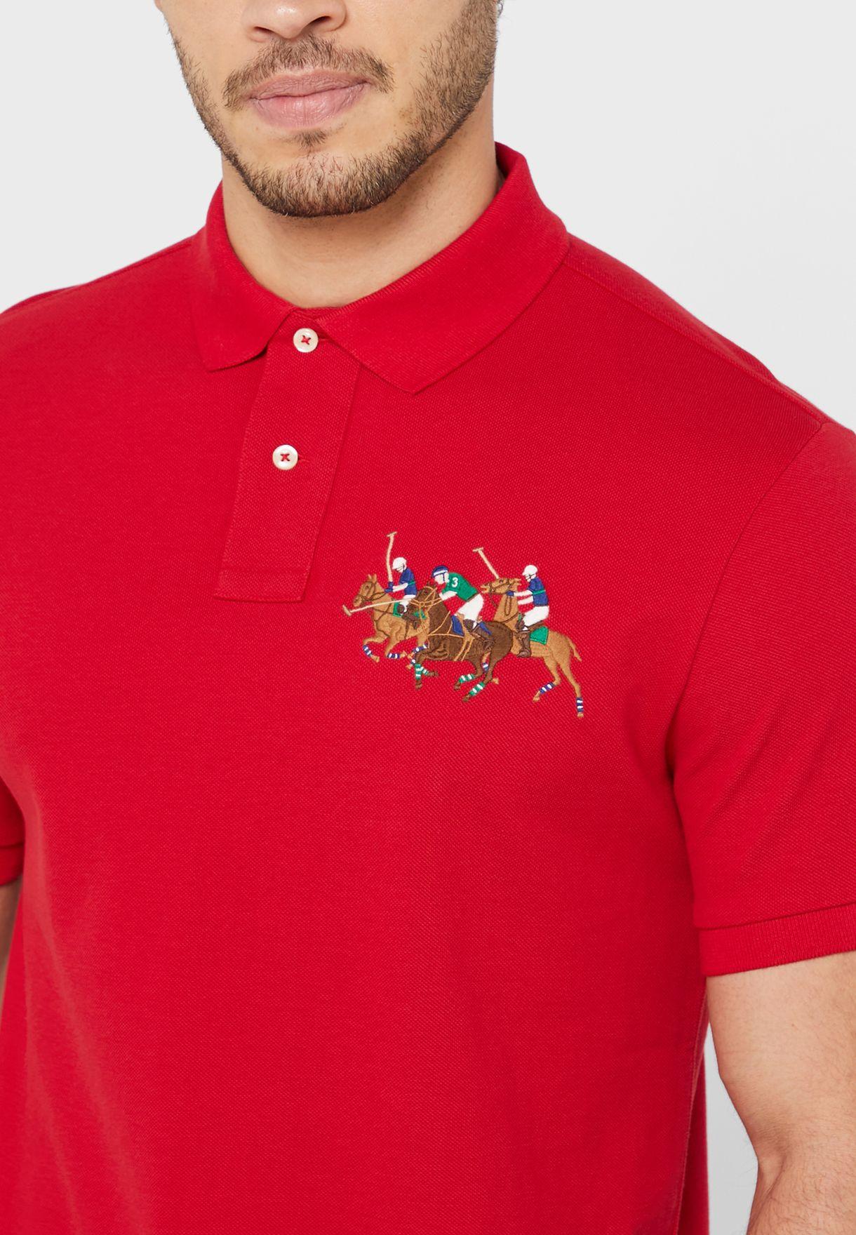 Chest Logo Polo Shirt