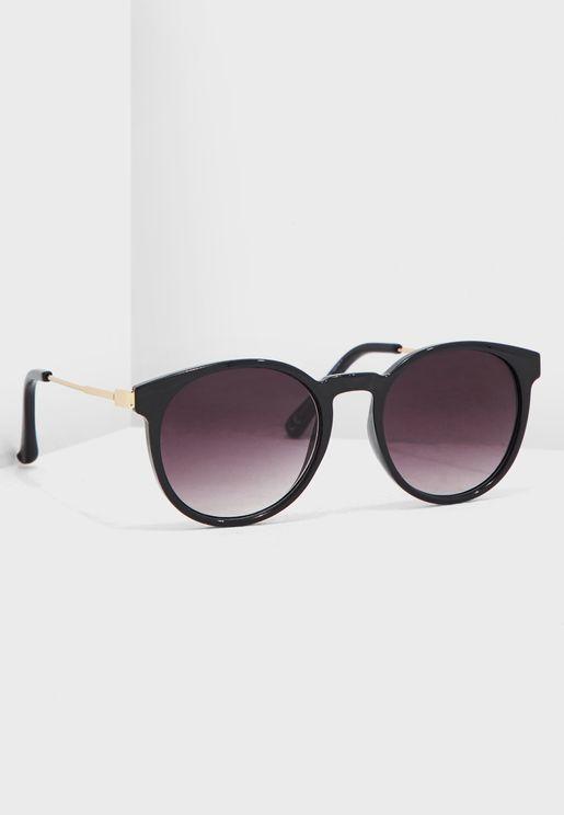 Pippa Metal Temple Sunglasses