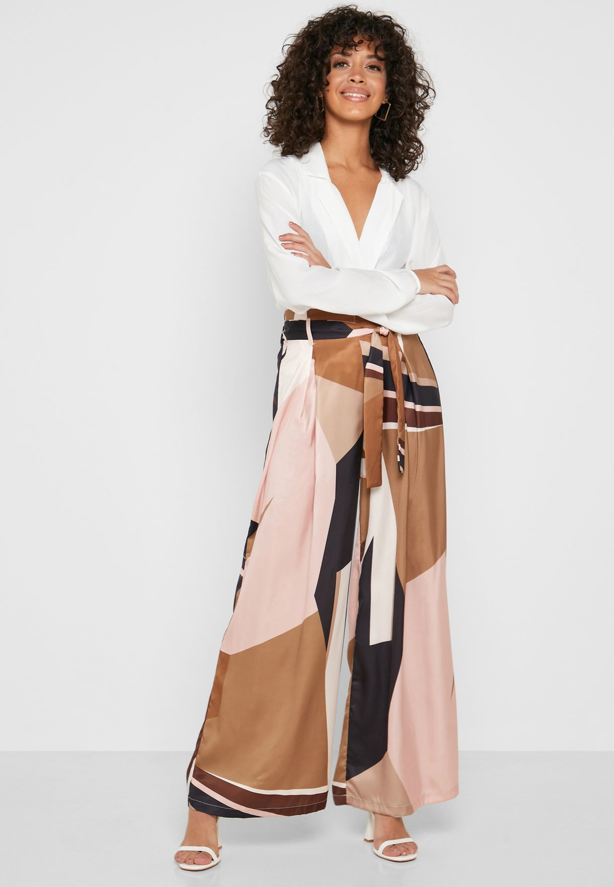 Abstract Prit Wide Leg Pants