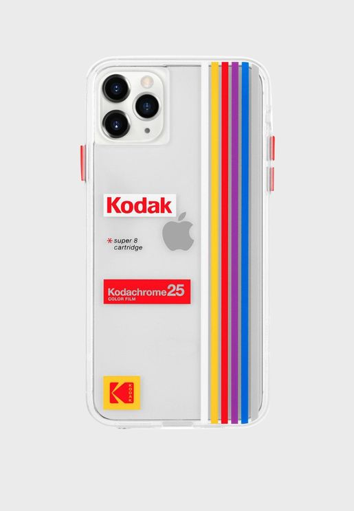 Kodak Striped Kodachrome iPhone Case