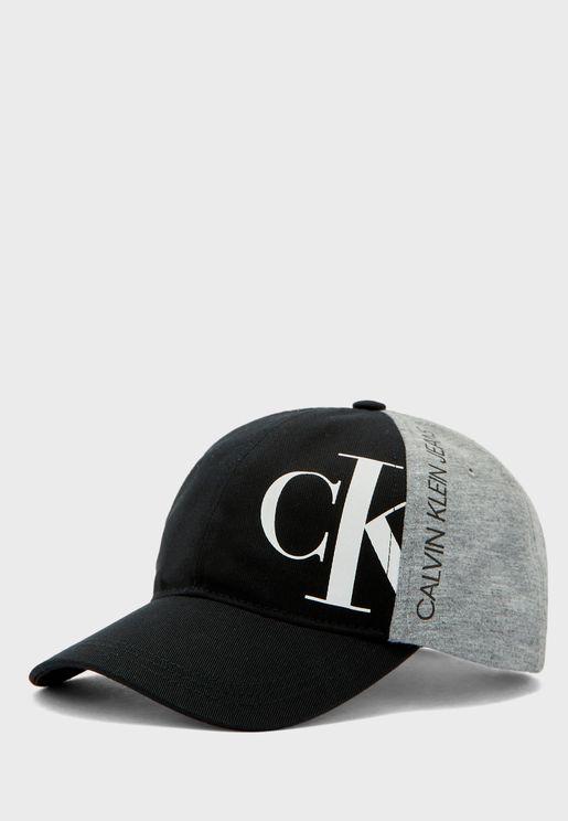 Kids Logo Printed Cap