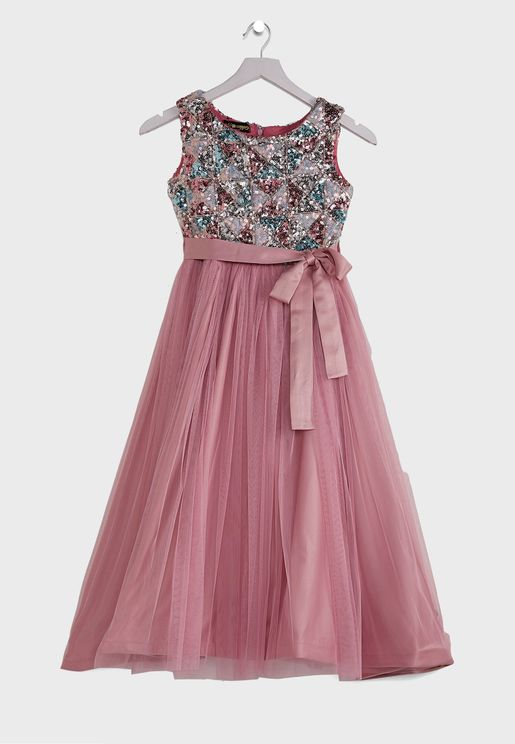Kids Fancy Net  Dress