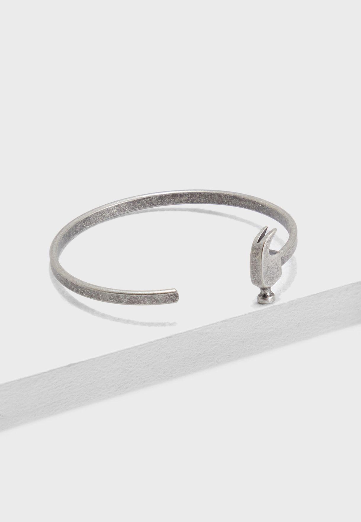 Hammer Cuffed Bracelet