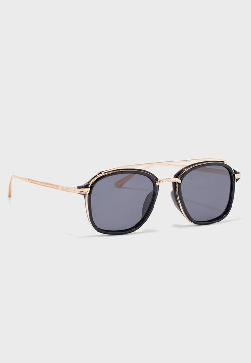 The Jetsetter Polarized Top Bar Sunglasses
