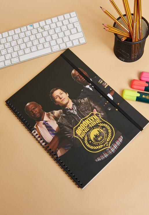 A4 Brooklyn 99 Notebook