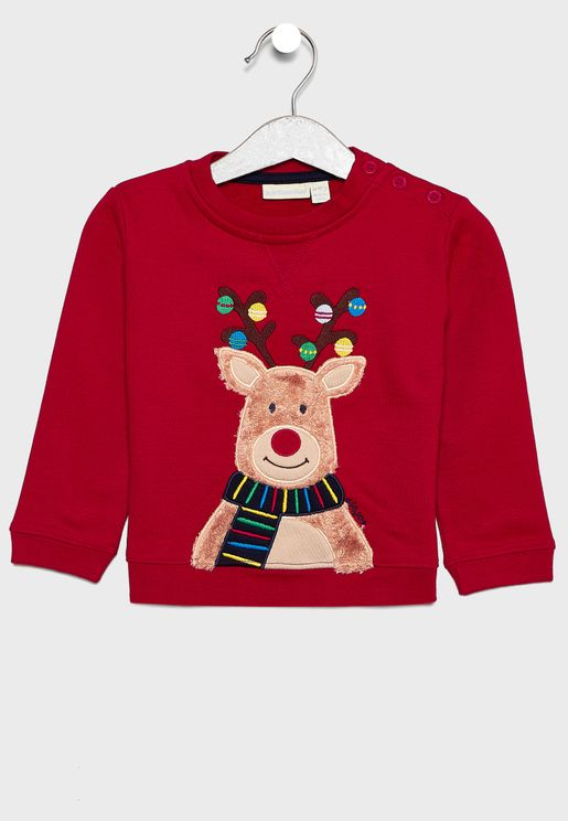 Kids Reindeer Sweatshirt