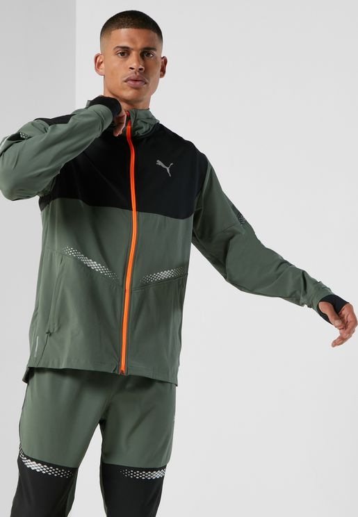 Runner ID Hooded Jacket