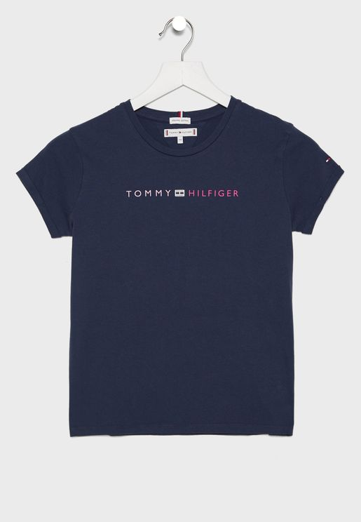 ESSENTIAL TOMMY ROLL UP TEE S/S