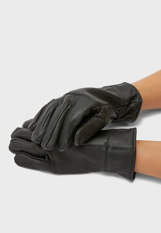 MENS THINSULATE LEATHER GLOVE