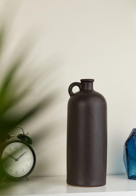 Large Burly Bottle Ceramic Vase