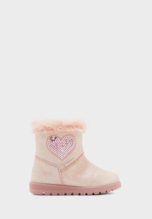 Infant Glitter Boot