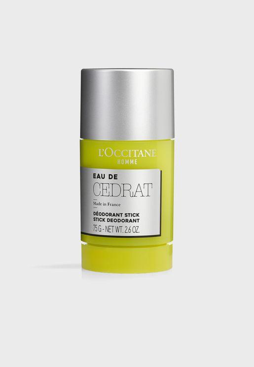 Cedrat Stick Deodorant 75G