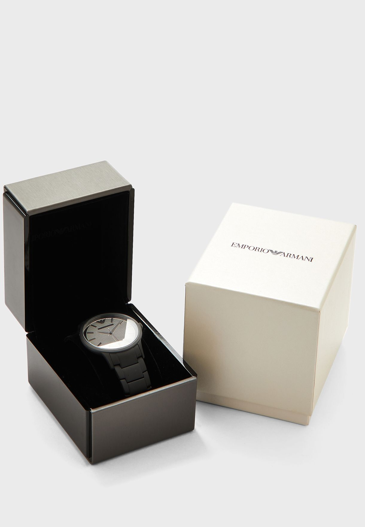 AR11259 Leather Strap Analog Watch