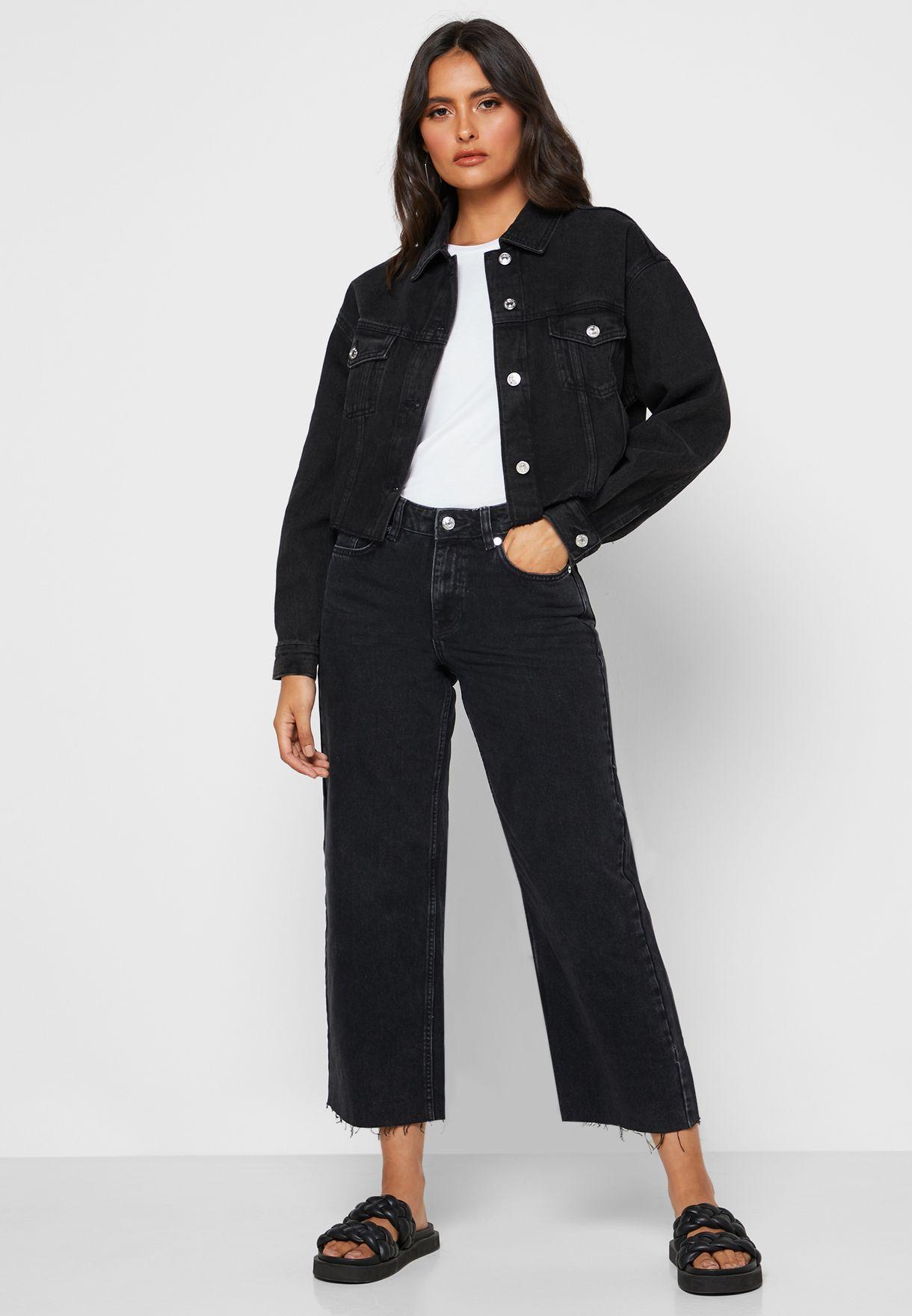 Button Down Denim Jacket