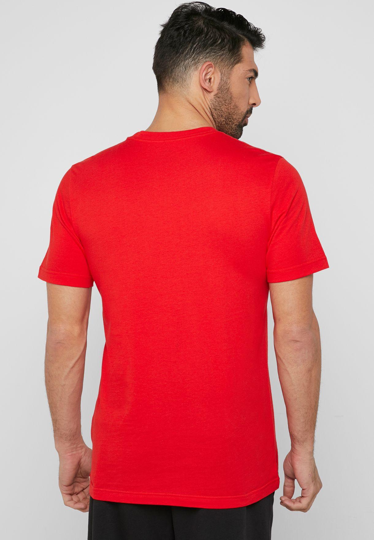 Rete di comunicazione Ottimizzare Gomma da masticare  Buy adidas orange Linear Brush T-Shirt for Men in MENA, Worldwide   DV3053