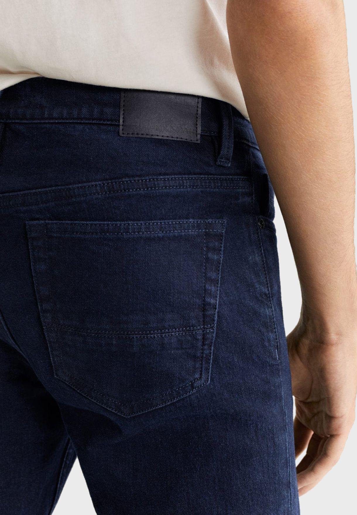 بنطال جينز بقصة سلم فت