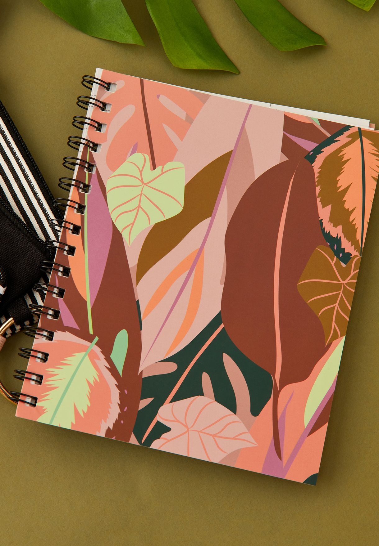 A5 Leaf Campus Notebook