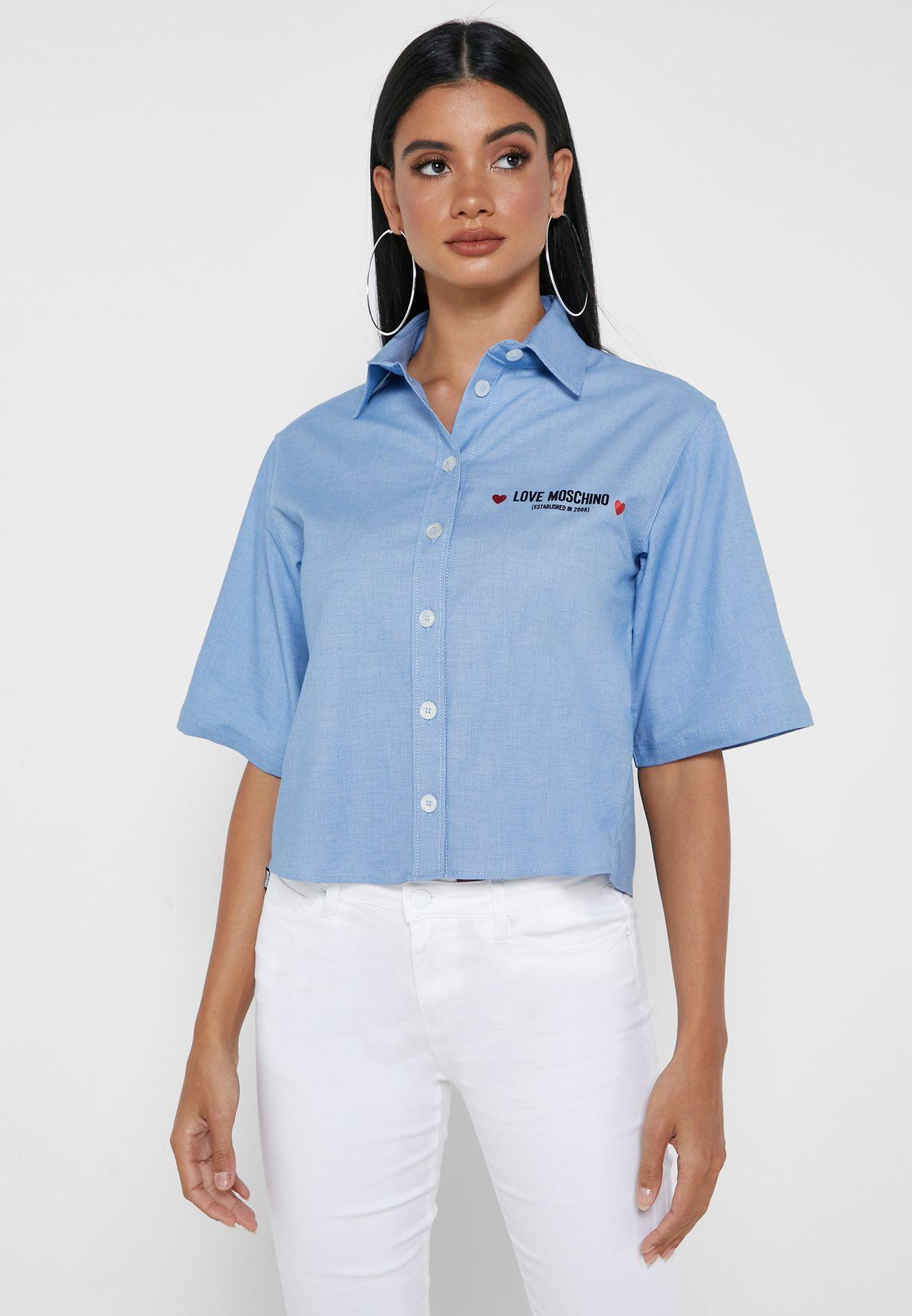 قميص بازرار امامية