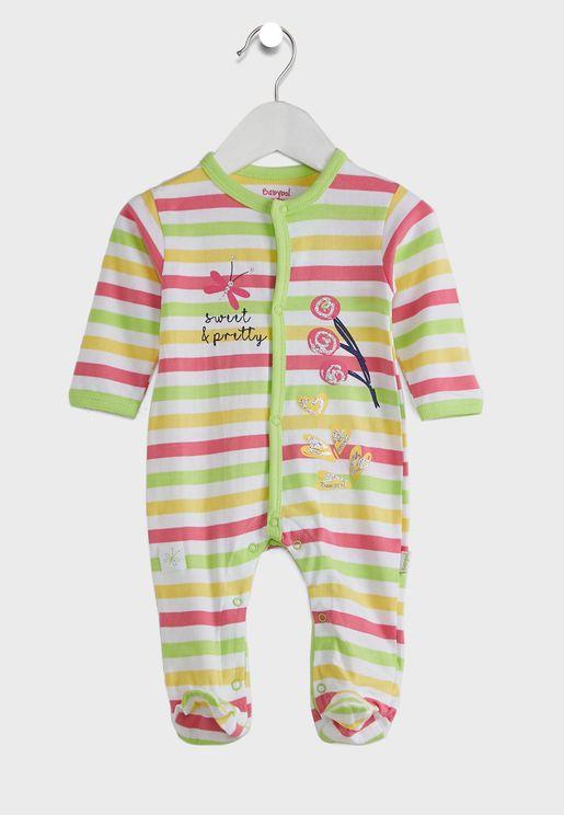 Infant Printed Romper