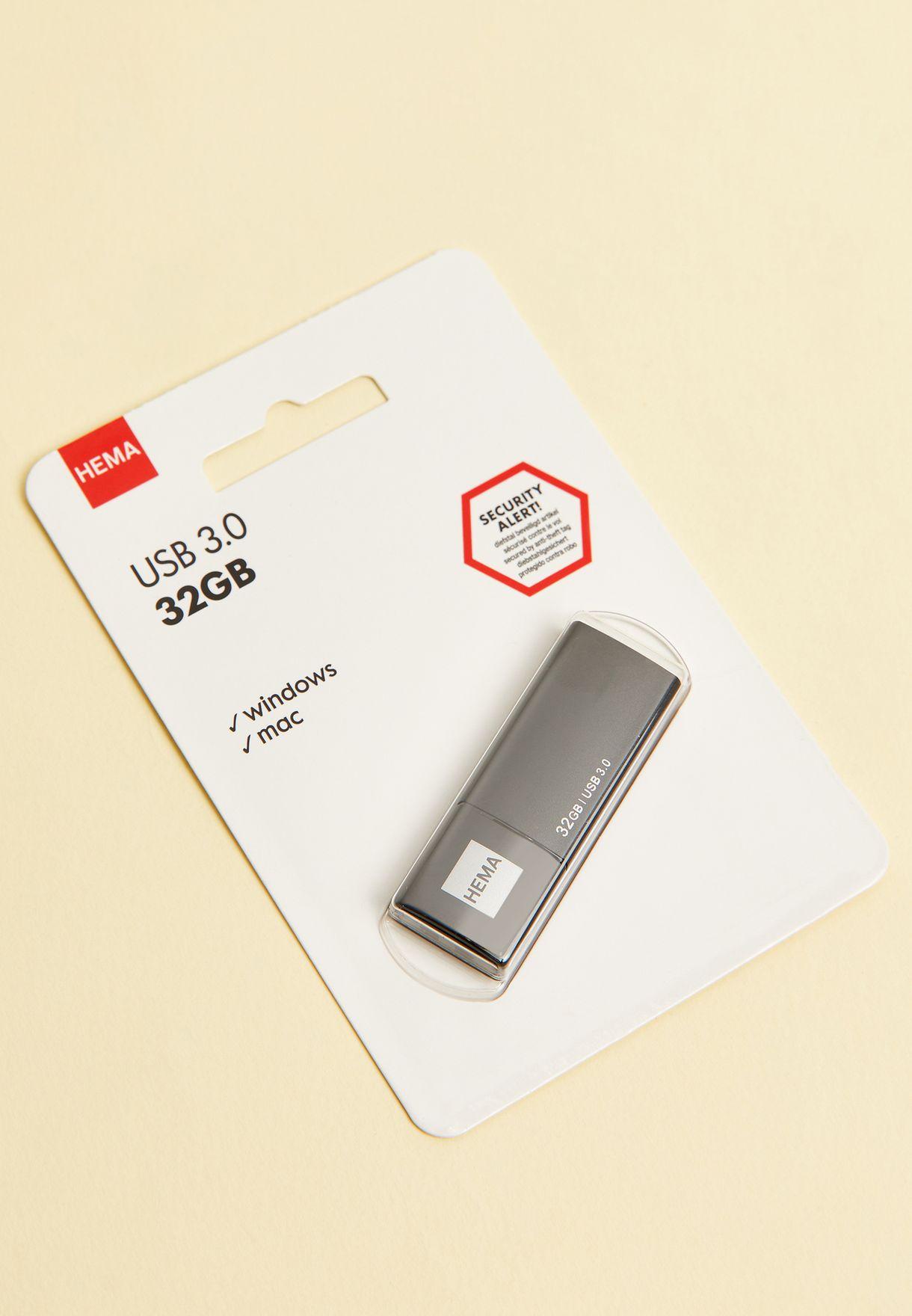 Black Usb Stick 3.0 32Gb