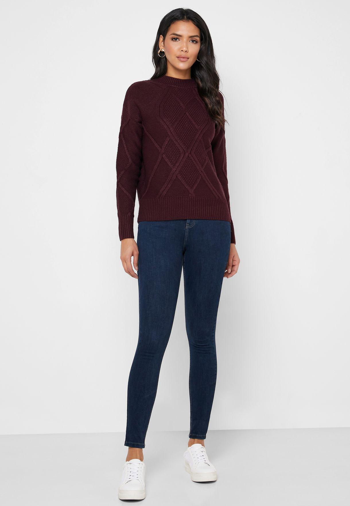 Ankle Grazer Stretch Jeans