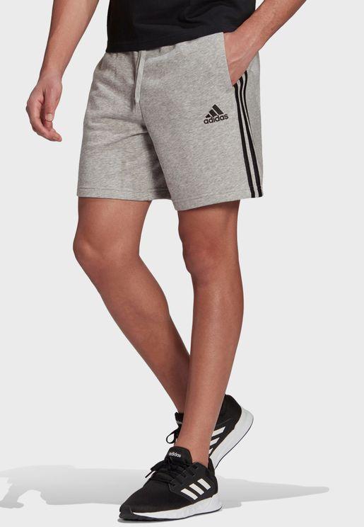 3 Stripe Logo Shorts