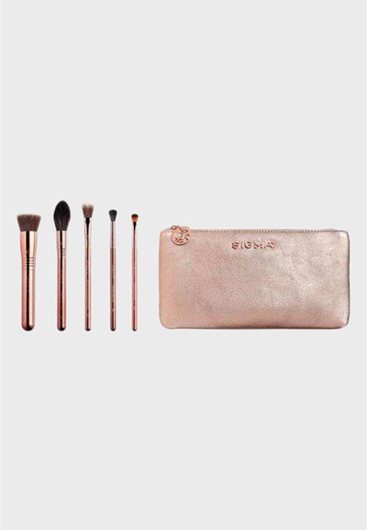 Sigma Beauty Set of 5 Iconic Brush Set
