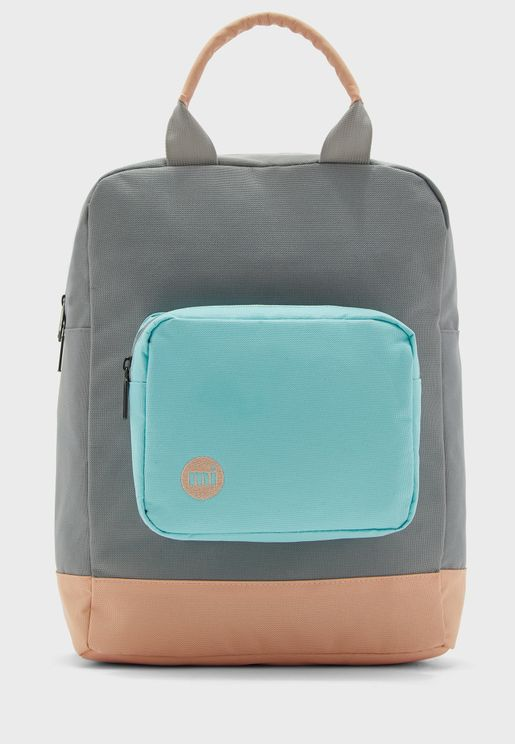 Decon Color Block Backpack