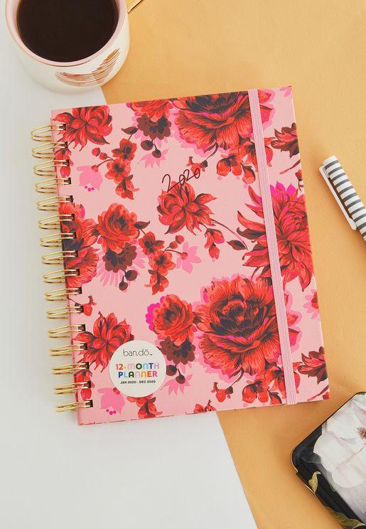 دفتر تخطيط متوسط- 12 شهر