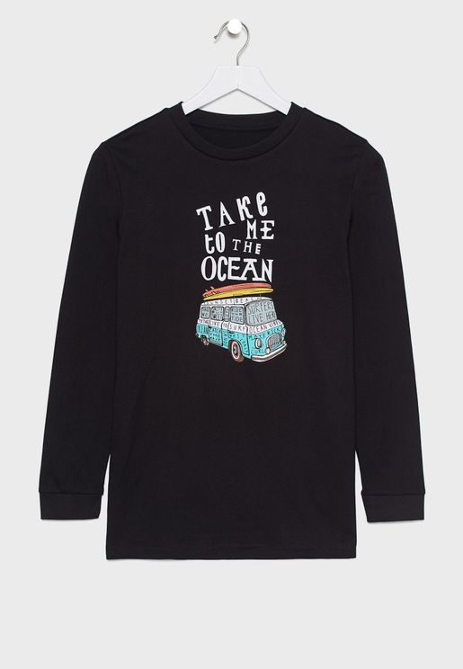 Youth Take Me To The Ocean T-Shirt