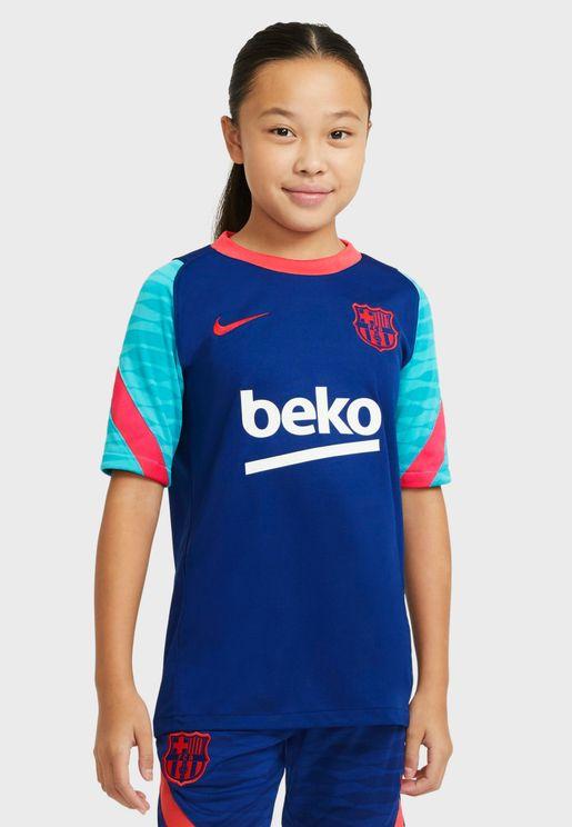Youth FC Barcelona Strike T-Shirt