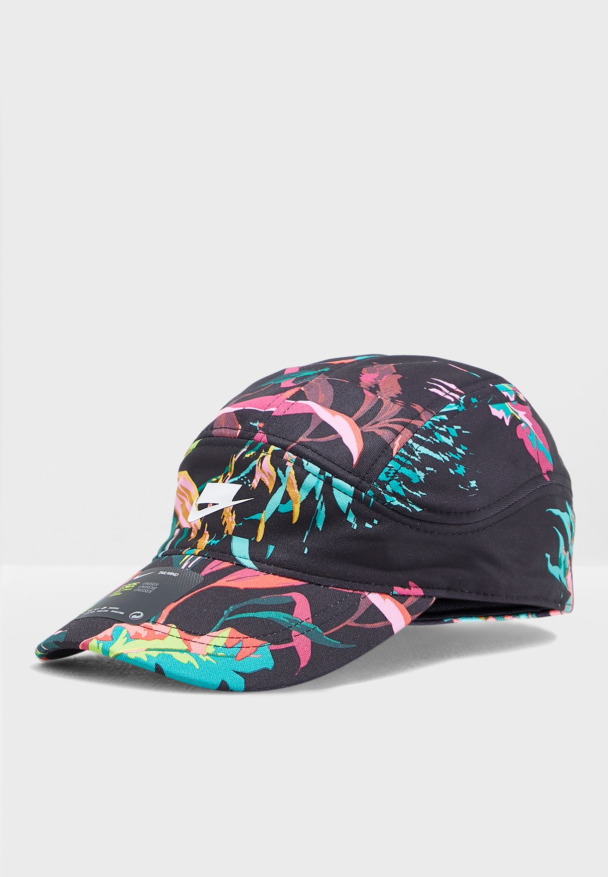 39d2f136d8864 Shop Nike prints NSW Tailwind Floral Cap AV6717-010 for Men in UAE ...