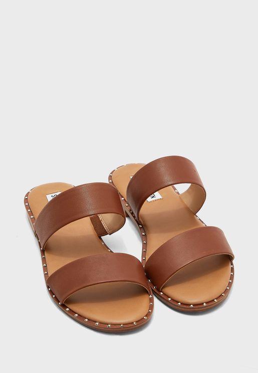 Treated Flat Sandals
