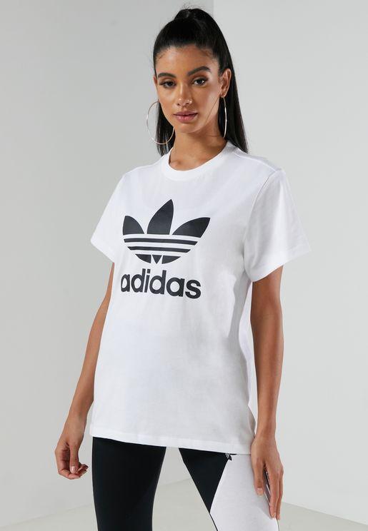 Boyfriend Trefoil T-Shirt