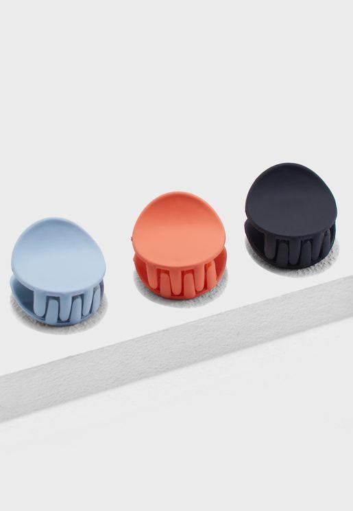 3 Pack Mini Hair Clips