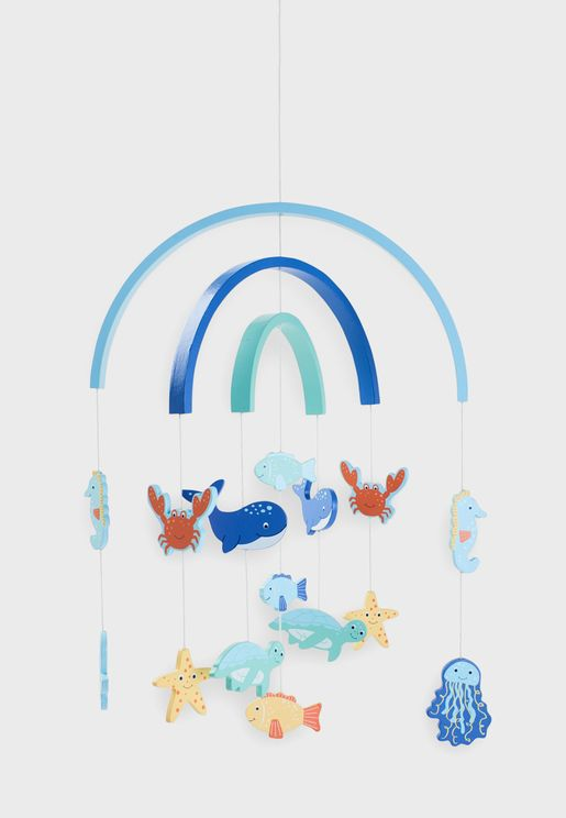Under the Sea Wooden Decorative Mobile