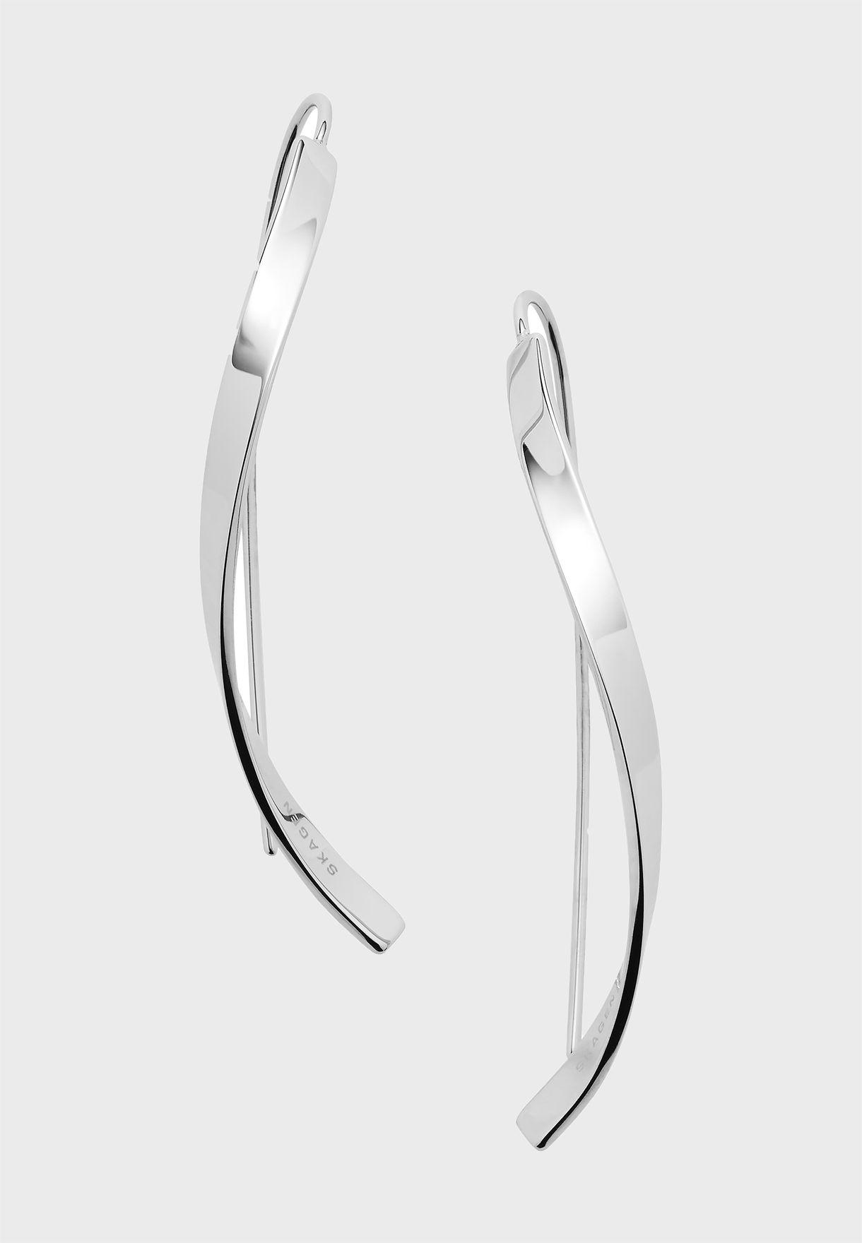 Twist Line Earrings