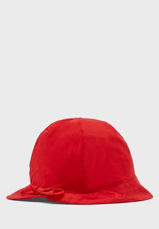 Infant Bow Detail Hat