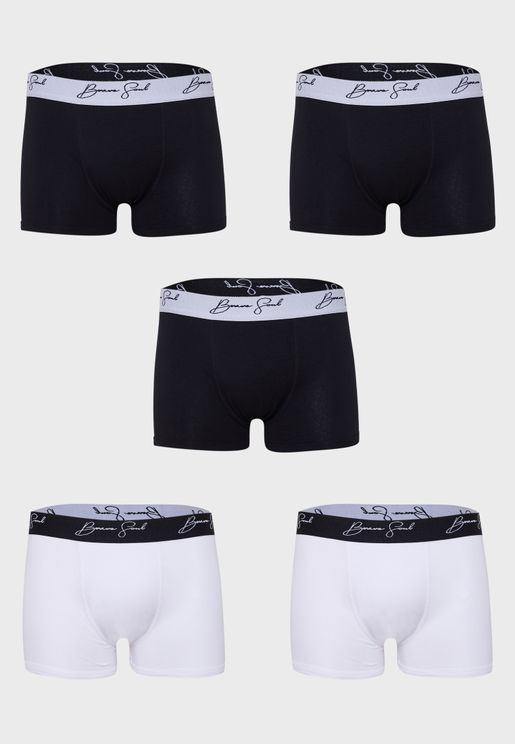 5- Pack Boxers