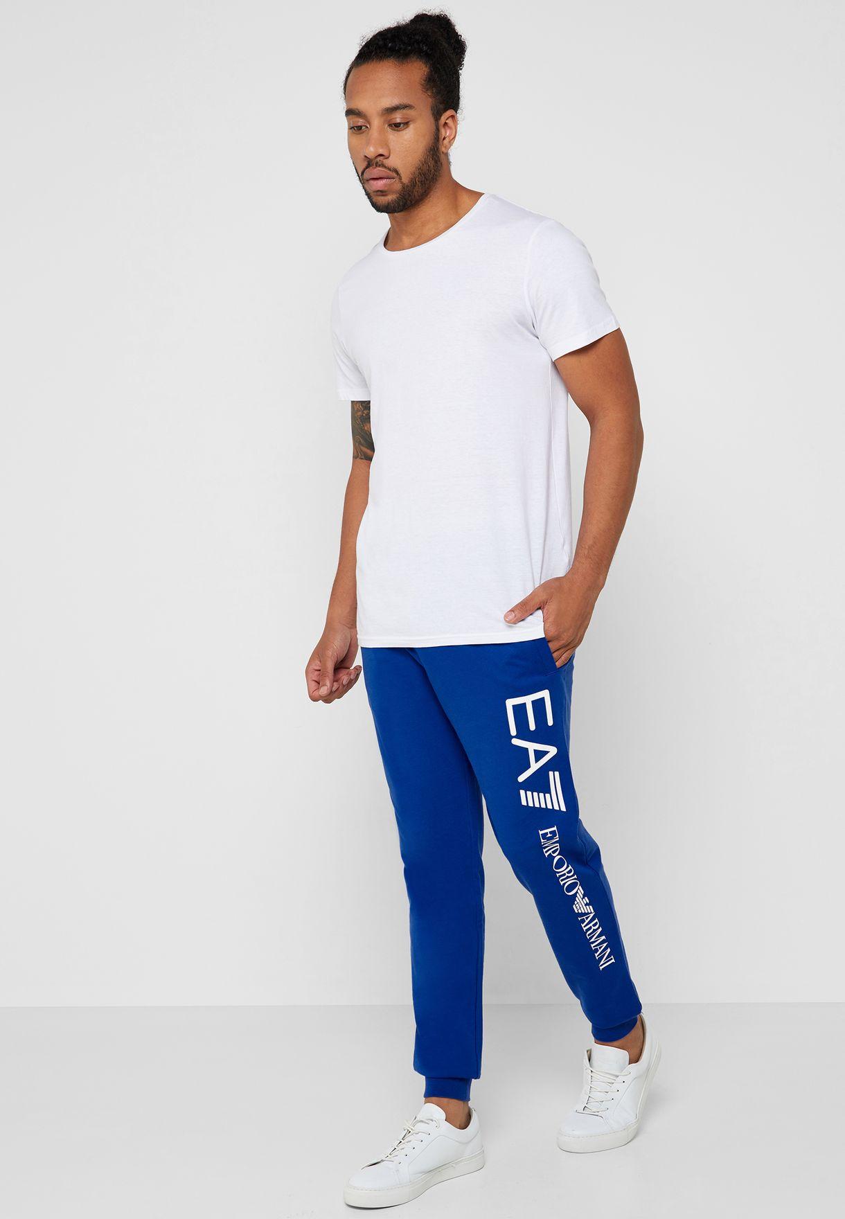 Logo Cuffed Sweatpants