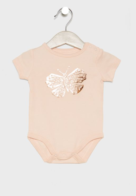 Infant Butterfly Bodysuit