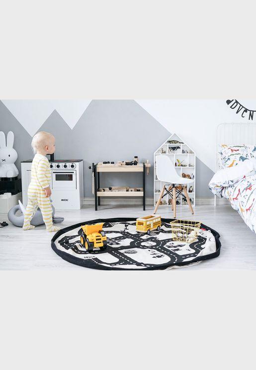 Road Map Playmat And Storage Bag