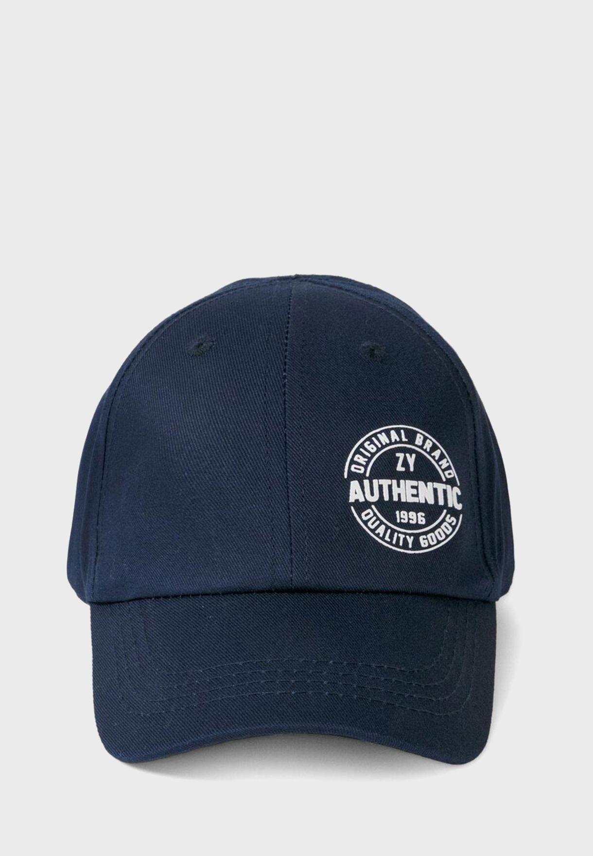 Kids Authentic Baseball Cap