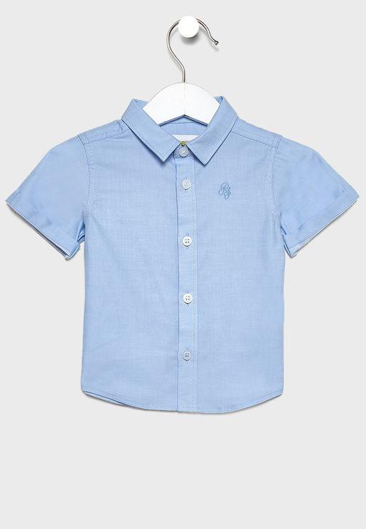 قميص بياقة كلاسيكية للبيبي