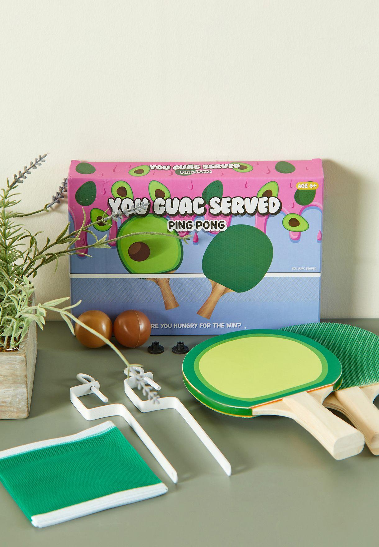 Guac Ping Pong Set