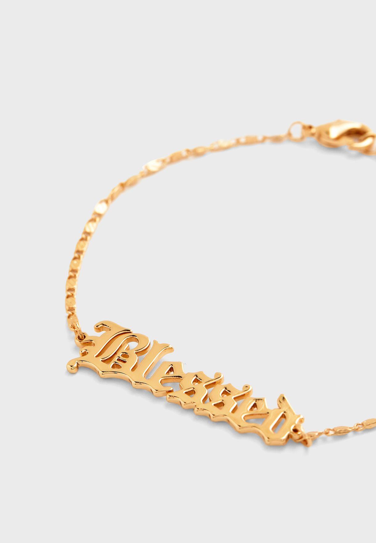 Blessed Pendant Bracelet