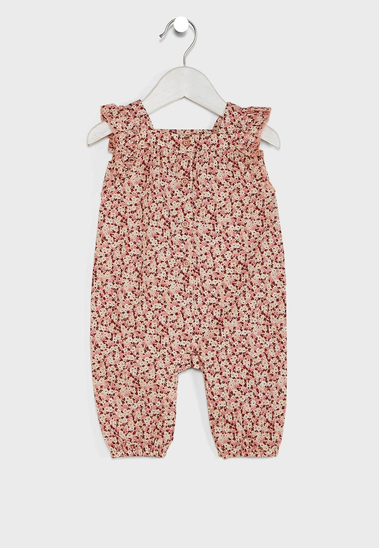 Infant Floral Playsuit